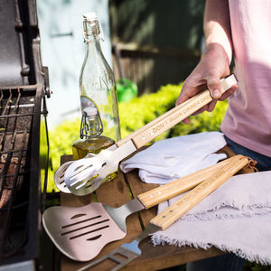 Personalised Father's Day Bbq King Tool Kit - home decorating