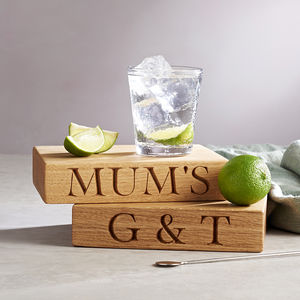 The Gin And Tonic Board - drinks connoisseur