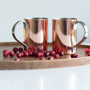 Rose Copper Mug