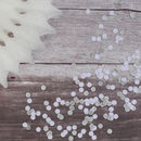 Silver And White Sparkly Table Confetti