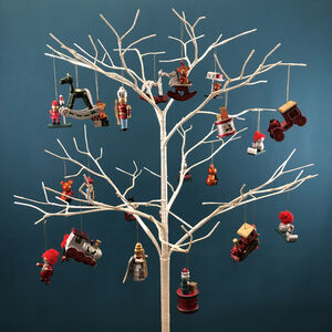 Wooden Christmas Tree Decorations