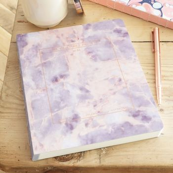 'Ma Vie Et Mes Projets' Amethyst Stone Planner