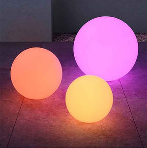 Decorative Outdoor Ball Light - living room