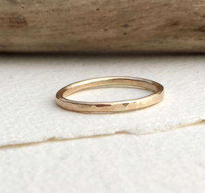 18ct Gold Wedding Band - rings