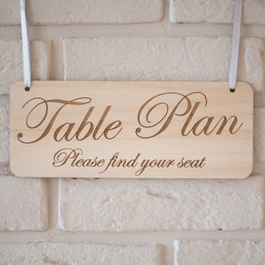 Personalised Wooden Hanging Sign - home accessories