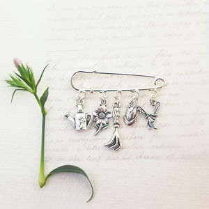 Flower Garden Brooch