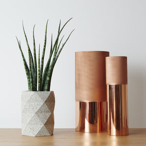 Geometric Vase Planter Pot