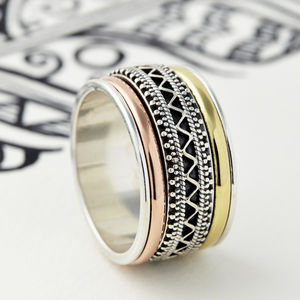Men's Jaipur Spinning Ring - rings