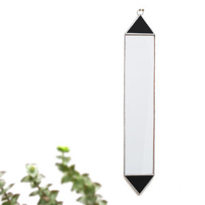 Geometric Triangle Wall Mirror - decorative accessories