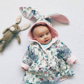 Spring Scents Floral Bunny Jacket