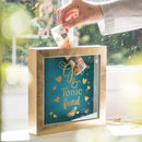 Personalised Gin And Tonic Savings Box Frame