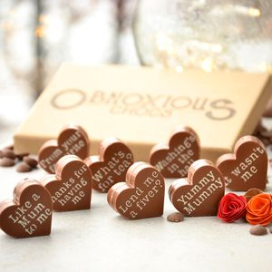 Mother's Day 'Obnoxious Chocs'