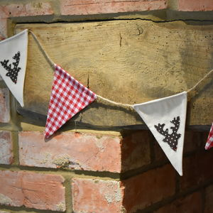 Christmas Stag Bunting - view all decorations