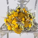 Stay Gold Dried Flower Posy