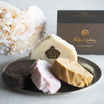 The Royal Wedding Fudge Selection