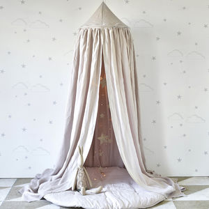 Linen Canopy - tents, dens & teepees