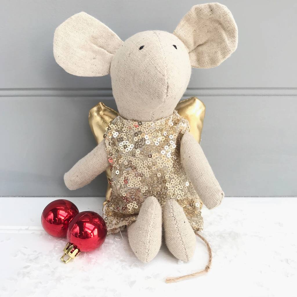 Sparkle Fairy Mouse Soft Toy