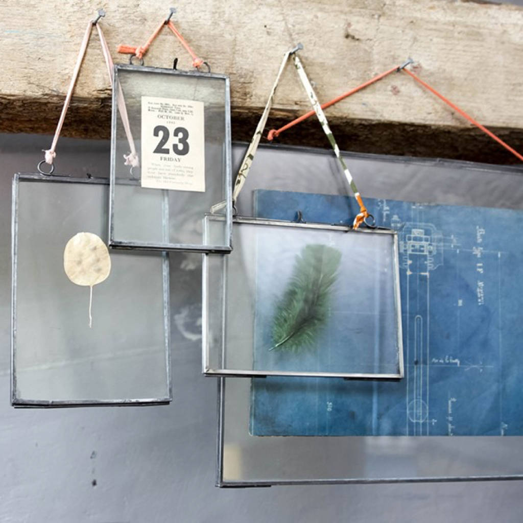 Zinc Hanging Photo Frame By All Things Brighton Beautiful Notonthehighstreet Com
