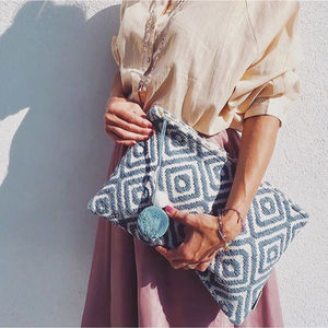 Oversize Boho Travel Clutch Bag - sun appreciation society