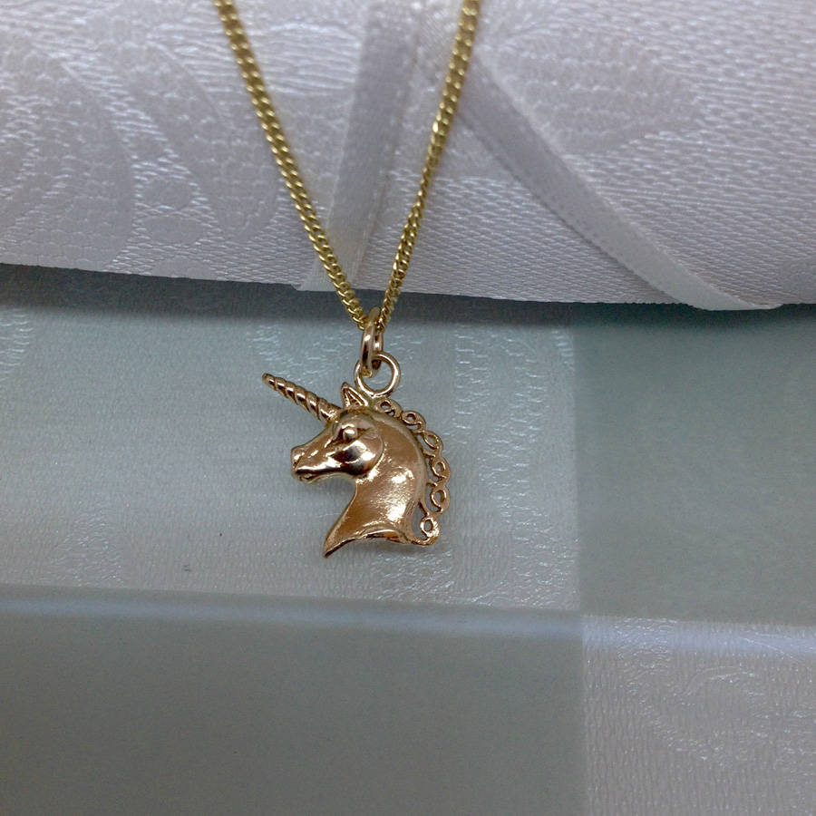 pendant s claire pastel necklace unicorn glitter