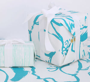 Screen Printed Double Sided Wrapping Paper