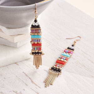 Aztec Earrings - earrings