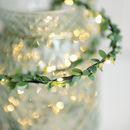 Outdoor Mini Leaf Fairy Lights