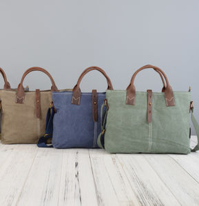 Handmade Canvas Tote - womens