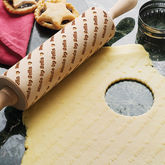 Personalised Embossing Rolling Pin - mother's day