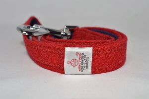 Harris Tweed Dog Lead - more
