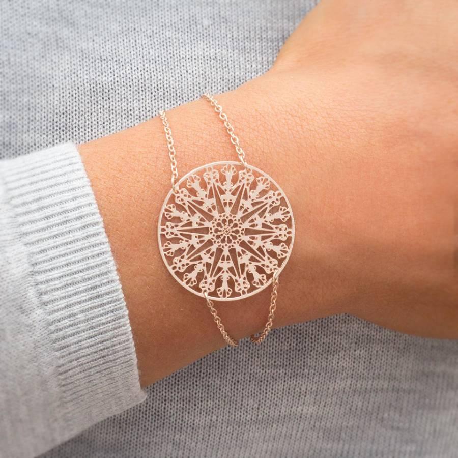 Personalised Amyas Filigree Bracelet