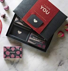 'I Love You' Chocolate Gift Pack - chocolates & confectionery