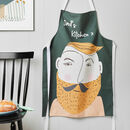 Personalised Male Face Apron