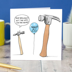 'That's Hit The Nail On The The Head' Card