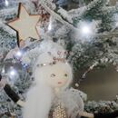 Christmas Heirloom Fairy + Secret Message Tree Topper