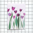 Tulip Flower A6 Greetings Card