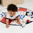 Organic Cotton Spot Print Patchwork Play Mat