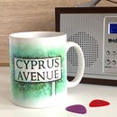 Cyprus Avenue Music Inspired Belfast Mug