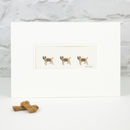 Border Terrier Hand Finished Art Print
