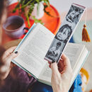 Personalised Embroidered Photo Strip Bookmark