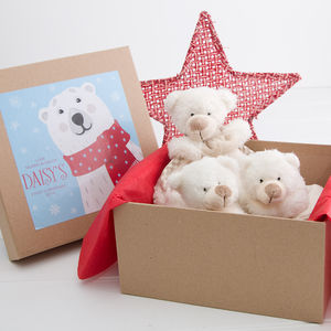 Personalised Baby's First Christmas Baby Box - baby care
