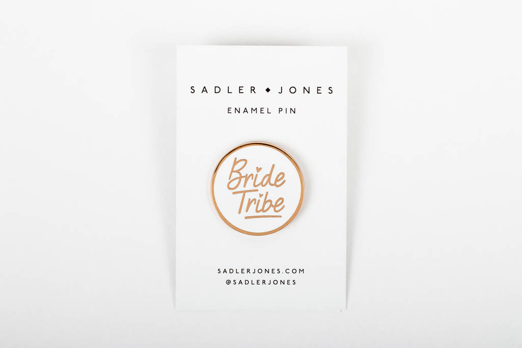 'Bride Tribe' Enamel Pin