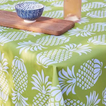 Chartreuse/ Lime Pineapple Tablecloth