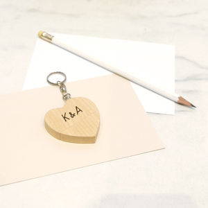 Personalised Heart Usb Keyring