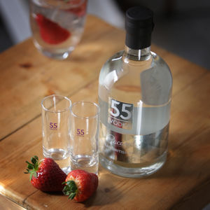 British Artisan Coconut Vodka With Shot Glass - new in food & drink