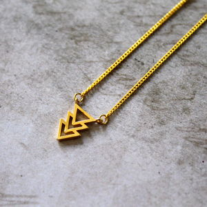 Children's Geometric Charm Necklace - children's jewellery