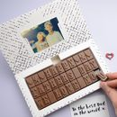 Happy Father's Day Chocolate Card