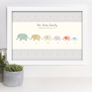 Family Print 'Plodding On Together Since …' - family & home