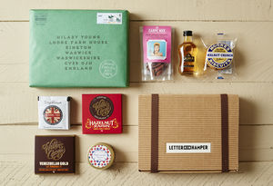 Best Of British Letter Box Hamper W Single Malt Whisky - drinks connoisseur