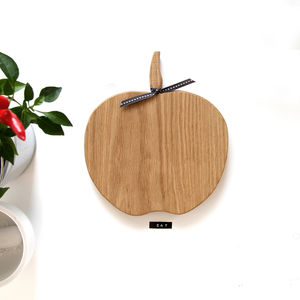 Wooden Apple Chopping / Serving Orchard Board - kitchen accessories